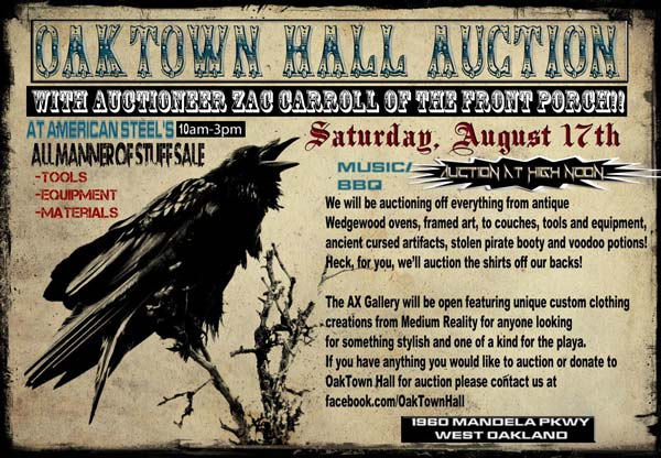 OakTown Hall Auction